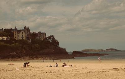Beach in Dinard