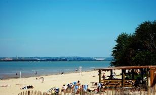 Beach in Honfleur