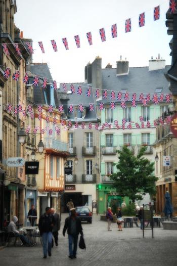 Flags in Quimper