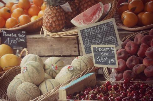 Fruit Market in Vannes