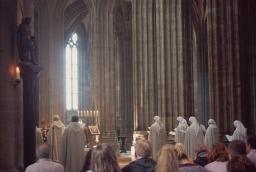 Mass in Mont St Michel