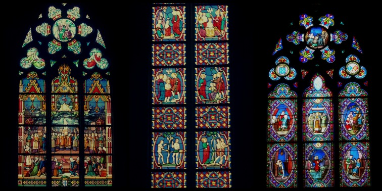 Stain Glass in a Church
