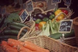 Veg Market in Vannes